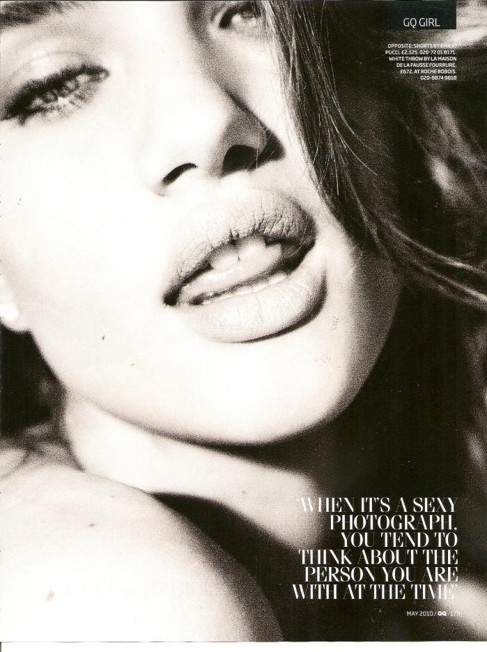 rosie huntington-whiteley gq. Rosie Huntington-Whiteley GQ Magazine UK May 2010 Photos