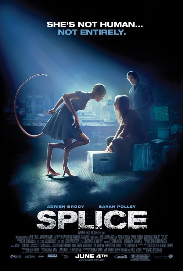 Splice Poster, Sarah Polley, Adrien Brody