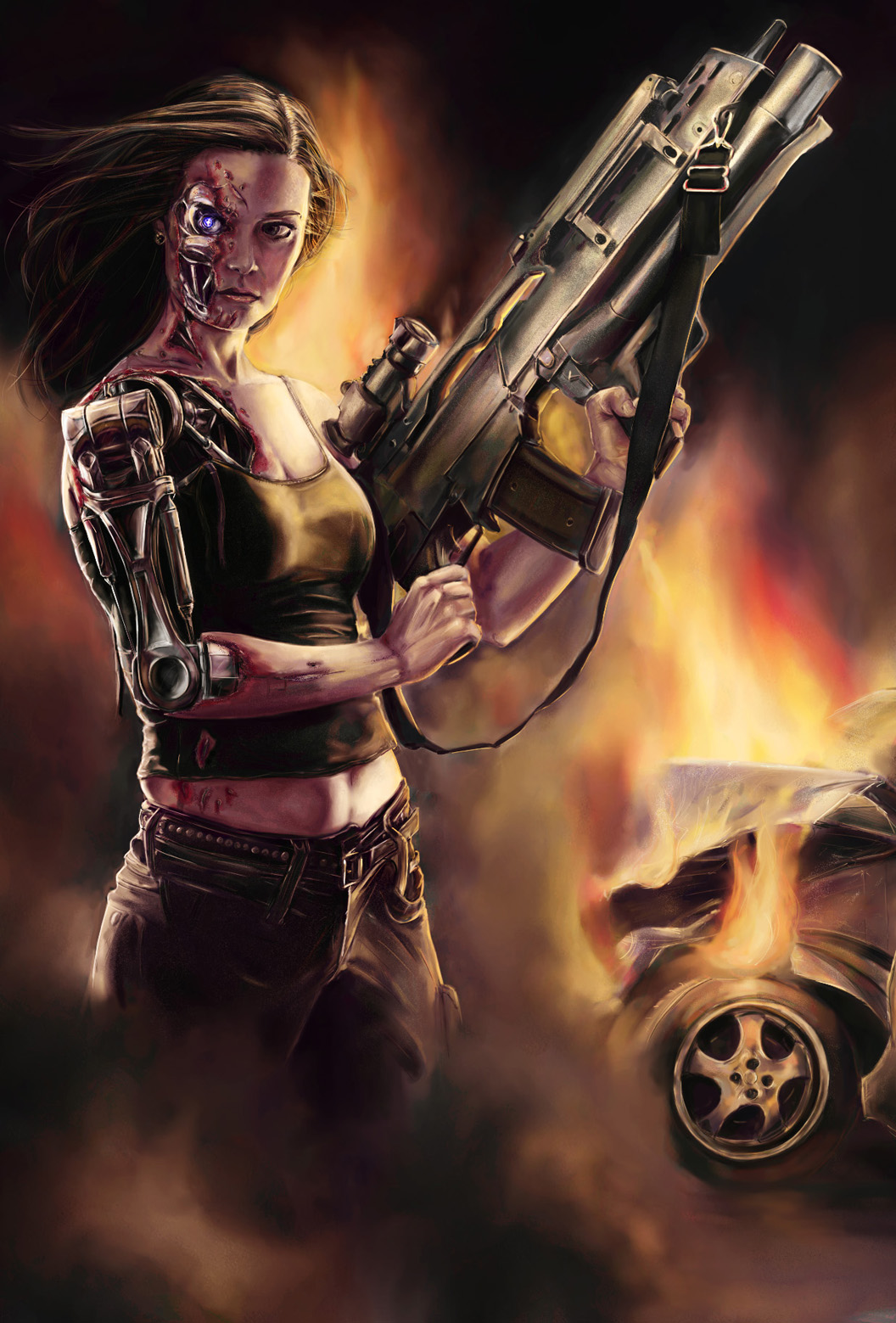 terminator sarah connor chronicle wallpaper