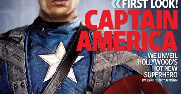 Chris Evans, Captain America: The First Avenger, Entertainment Weekly November 2010 Cover