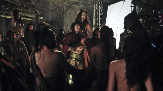 Jason Momoa, Conan (2011), Drinking Girls, Behind the Scenes, 01