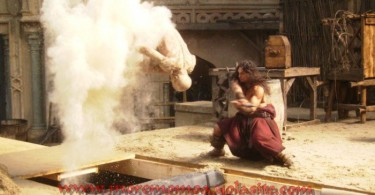 Jason Momoa, Conan (2011), White Fight, Behind the Scenes, 02