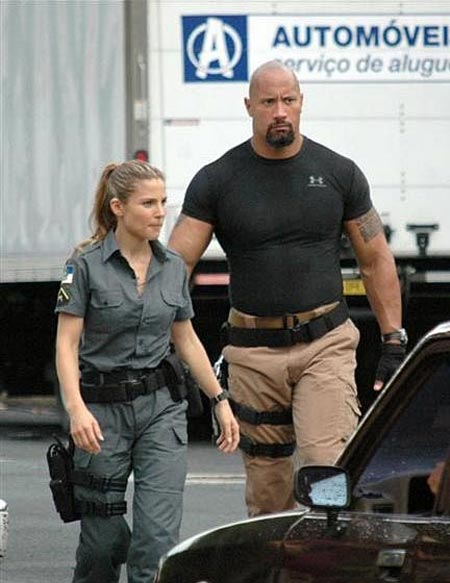Fast Five, 2011, Dwayne Johnson, Elsa Pataky, 02