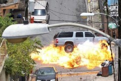 Fast Five, 2011, SUV explosion, 01