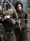Isaac Hempstead Wright, Kit Harington, Game of Thrones, 2010, 01