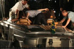 Kristen Stewart, Robert Pattinson, The Twilight Saga: Breaking Dawn, Rio Set, 05