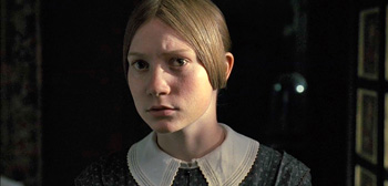 Mia Wasikowska, Jane Eyre, 2011, Movie Trailer header