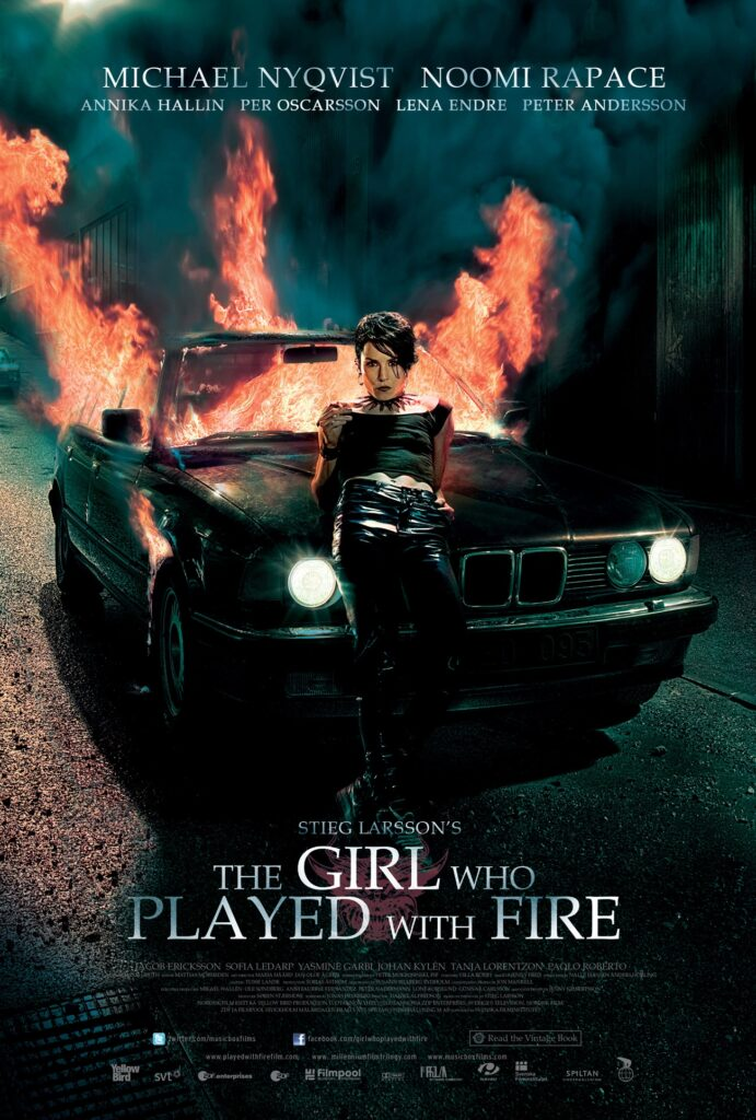 The Girl Who Played With Fire, Movie Poster, 2009