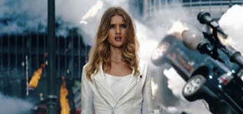 Rosie Huntington Whiteley, Transformers: Dark of the Moon
