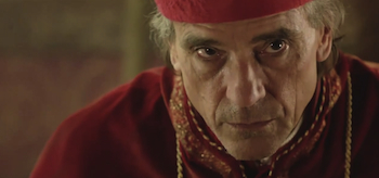 Jeremy Irons, The Borgias, 2011