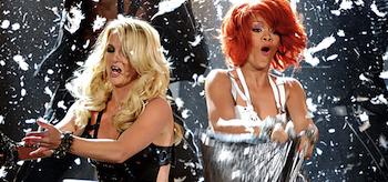 Rihanna, Britney Spears, Billboard Music Awards 2011