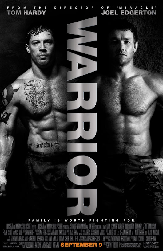 Warrior (2011) Movie Poster 2, 01
