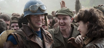 Chris Evans, Hayley Atwell, Captain America: The First Avenger, 2011