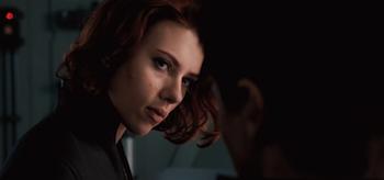 Scarlett Johansson, Jeremy Renner, The Avengers, 2012, 02