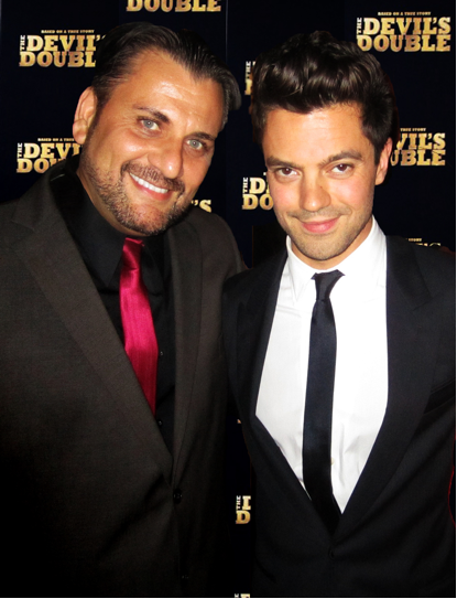 Mem Ferda, Dominic Cooper, The Devil's Double, 2011, New York  Premiere