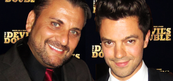 Mem Ferda, Dominic Cooper, The Devil's Double 2011, New York Premiere, 02