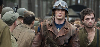 Chris Evans, Sebastian Stan, Captain America The First Avenger 2011