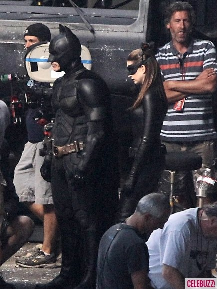 Christian Bale, Batman, Anne Hathaway, Catwoman, The Dark Knight Rises 2012, Set 01