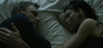 Daniel Craig, Rooney Mara, The Girl with the Dragon Tattoo 2011