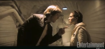 Harrison Ford, Carrie Fisher, Star Wars: Episode V – The Empire Strikes Back 1980