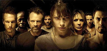 Lauren German, Michael Biehn, Rosanna Arquette, The Divide