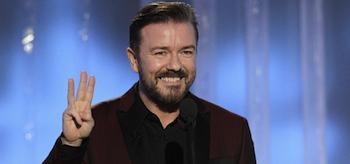 Ricky Gervais, Golden Globe Awards 2012