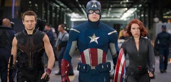 Chris Evans, Scarlett Johansson, Jeremy Renner, The Avengers