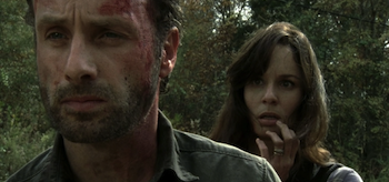 Andrew Lincoln, Sarah Wayne Callies, The Walking Dead, Beside the Dying Fire