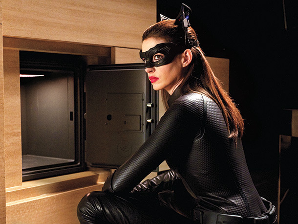 Anne Hathaway The Dark Knight Rises Stealing