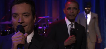 Barak Obama Jimmy Fallon Late Night