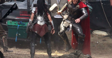 Jaimie Alexander Chris Hemsworth Thor The Dark World
