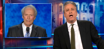 Jon Stewart Clint Eastwood The Daily Show