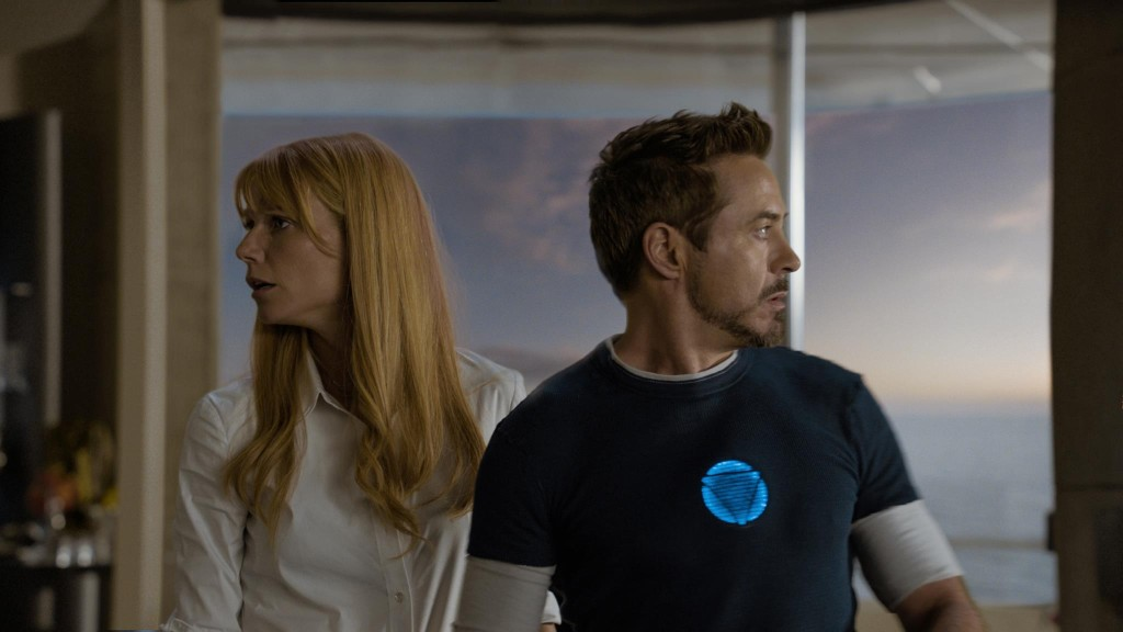 Robert Downey Jr Gwyneth Paltrow Iron Man 3