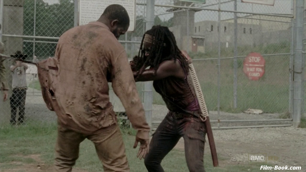 Danai Gurira The Walking Dead When E Knocking