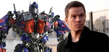 Mark Wahlberg Optimus Prime