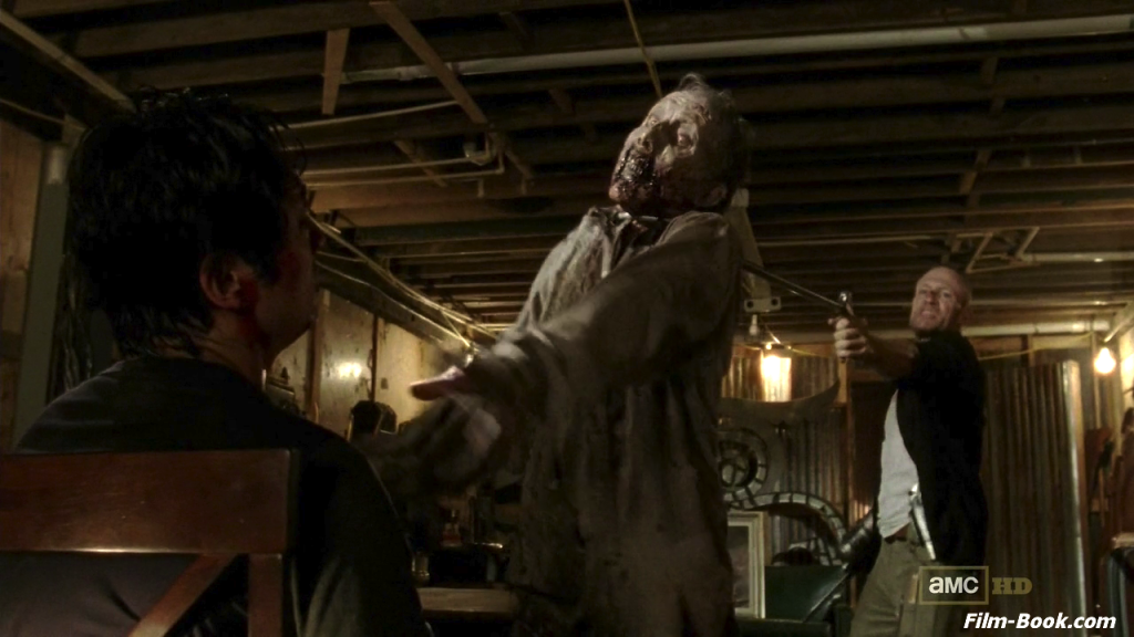 Michael Rooker Steven Yeun The Walking Dead When the Dead Come Knocking