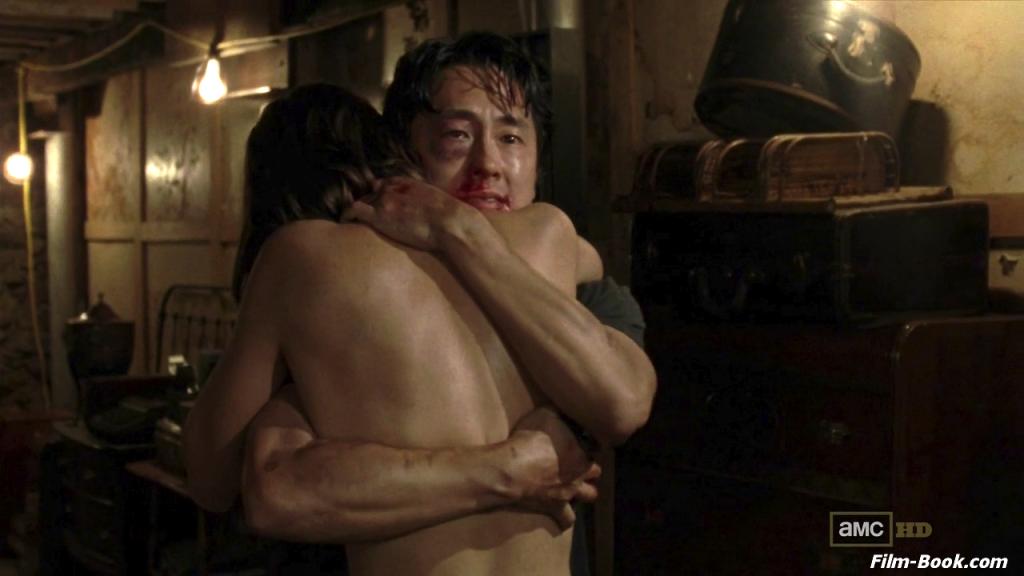 Steven Yeun Lauren Cohan The Walking Dead When the Dead Come Knocking