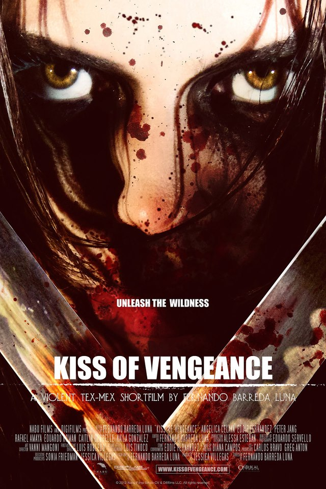 Kiss of Vengeance short film poster