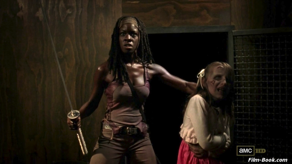 Kylie Szymanski Danai Gurira The Walking Dead Made to Suffer