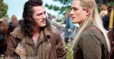 Orlando Bloom Luke Evans The Hobbit An Unexpected Journey