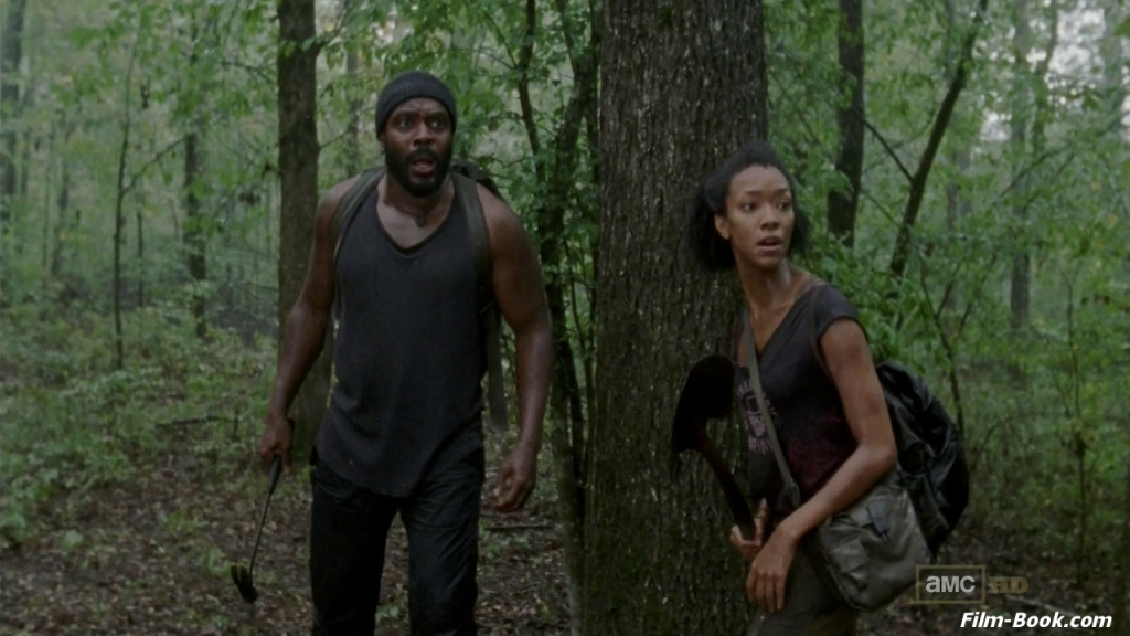 Sonequa Martin-Green Chad Coleman The Walking Dead Made to Suffer