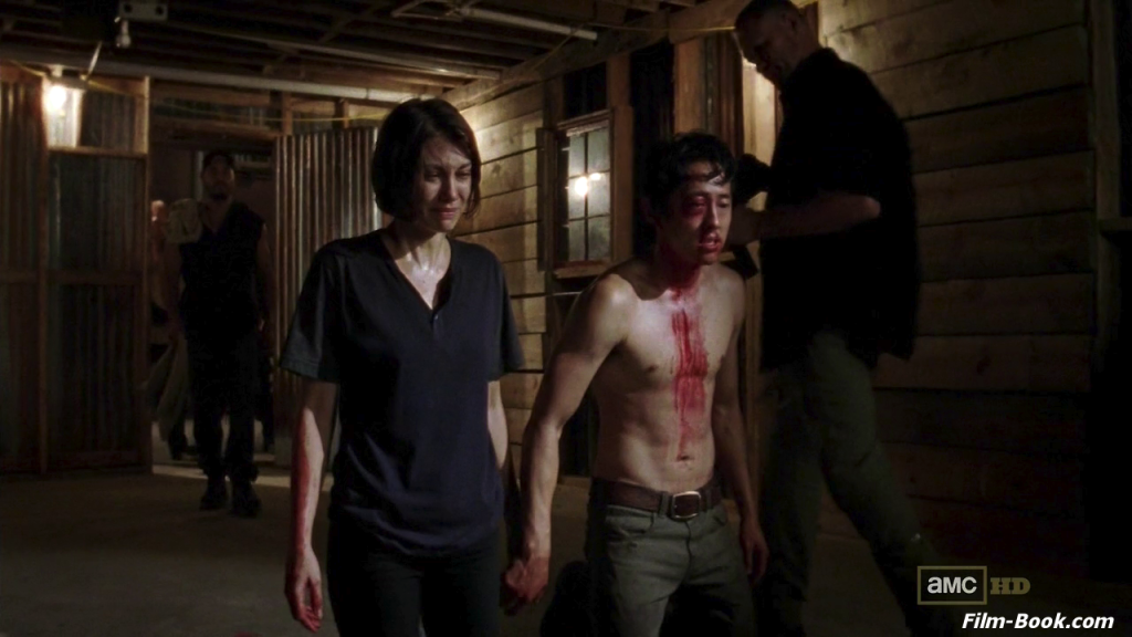 Steven Yeun Lauren Cohan The Walking Dead Made to Suffer
