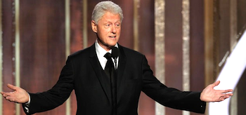 Bill Clinton Golden Globe Awards 2013