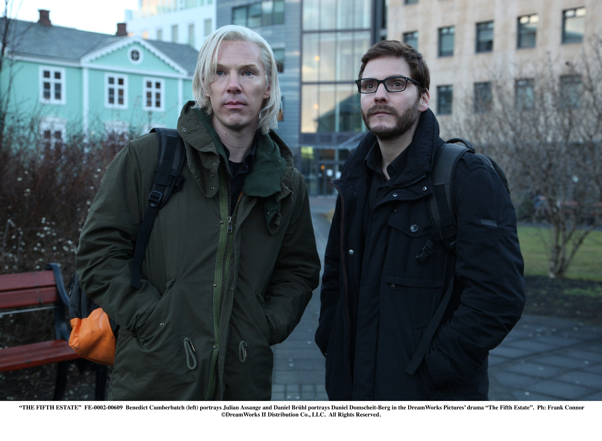 Daniel Bruhl Benedict Cumberbatch The Fifth Estate