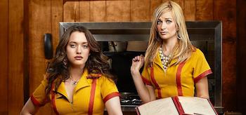 Kat Dennings Beth Behrs 2 Broke Girls