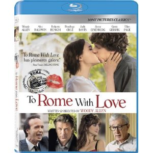 TO ROME WITH LOVE (2012) Blu-ray Sweepstakes