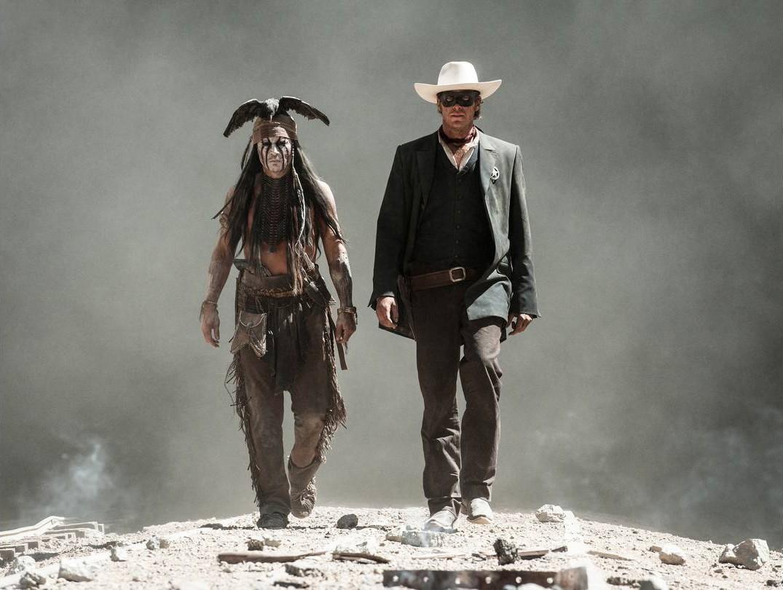 Armie Hammer Johnny Depp The Lone Ranger