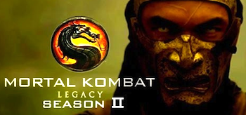 Ian Anthony Dale Mortal Kombat Legacy Season 2 Logo