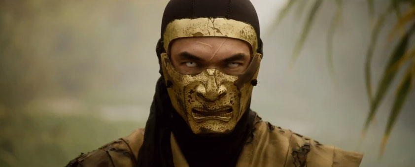 Ian Anthony Dale Scorpion Mortal Kombat Legacy Season 2