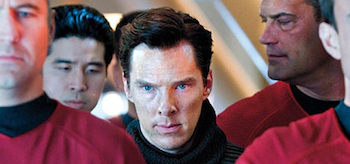 Benedict Cumberbatch Star Trek into Darkness